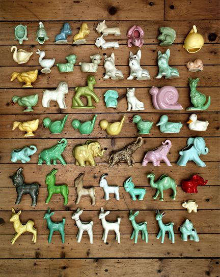Collection of Ceramic Animals