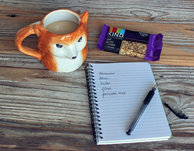 Fox mug & breakfast